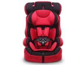 感恩 E-旅行者 安全坐椅婴儿安全座椅 9个月-12岁 3c认证(红黑)
