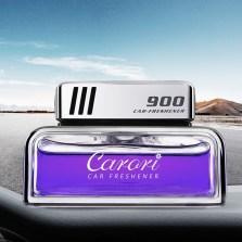 香百年 汽车香水座式 车载香水香膏香薰 车用空气净化摆件挂件 900紫色-典雅 浓香 Z-109