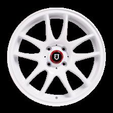 丰途/FT504 15寸改装轮毂 4X100 白色 赛欧/飞度/新飞度/威驰/花冠/雨燕/乐风/阳光