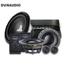 免费安装 丹拿DYNAUDIO ESOTAN 272 两分频套装+ZAPCO204D功放+10W0低音功放套餐