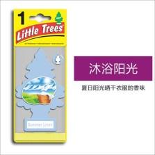 美国小树/Little Trees 汽车香片 香水挂件 除异味车载香水【沐浴阳光】