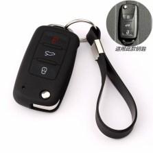 安美时 适用于大众硅胶汽车钥匙套 钥匙套包