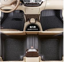3M 专车专用全包围丝圈汽车脚垫【魅力黑】