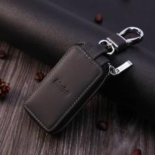 牧宝车用钥匙包通用男女个性汽车匙包 至尚11【黑色】