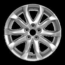 【买3送1 四只套装】丰途严选/HG0229 18寸 马自达昂克赛拉原厂款轮毂 孔距5X114.3 ET50银色涂装