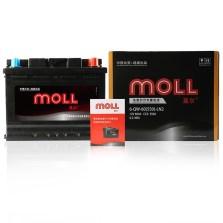 莫尔/Moll 蓄电池 电瓶 以旧换新 L2-400【反锥】/6-QW-60(580)-LN2【加赠延保至18个月】