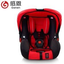 感恩 A-探索者 车载宝宝提篮式坐椅婴儿座椅 3C认证 0-12个月【红黑色】