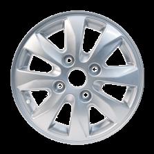 丰途严选/HG8172 14寸 五菱宏光S原厂款轮毂 孔距4X114.3 ET44银色涂装