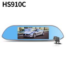 凌度HS910C 7.0寸大屏 前后双镜头行车记录仪1080P+VGA 170°大广角 倒车影像