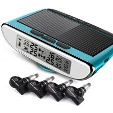 【包安装】铁将军/Steel Mate 太阳能胎压监测TPMS系统 960N【内置-蓝天蓝】