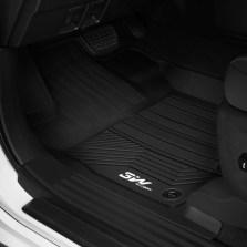 3W 全TPE脚垫丰田普拉多霸道兰德酷路泽RAV4凯美瑞卡罗拉汉兰达专车专用无异味健康脚垫【普拉多五座黑色】