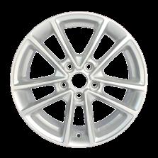 【四只套装】丰途严选/HG5012 16寸低压铸造轮毂 孔距5*108 新福克斯