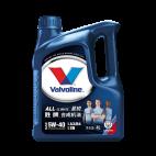 【正品授权】美国胜牌/Valvoline All-Climate 曼城版 星锐合成机油 SN A3/B4 5W-40 4L【881872】