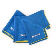 途虎定制 细纤维洗车毛巾 汽车专用纤维 擦车巾【40cm*40cm】