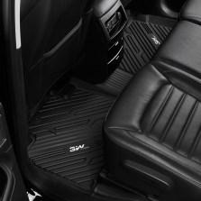 3W 全TPE脚垫福特锐界F150专车专用无异味健康脚垫【锐界五座黑色】