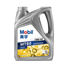 美孚/Mobil MT80 科技联创款 全合成发动机油 SP 5W-40  4L 4L 5W40