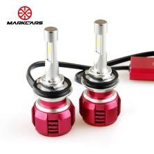 迈酷势/MARKCARS V8 汽车LED大灯 改装替换 H11 6000K 一对装 白光【下单请备注车型】