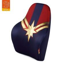 GiGi漫威Marvel汽车头枕腰靠卡通记忆棉车用腰靠-惊奇队长