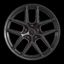 【新品 买3送1 四只套装】丰途/FT519 17寸 低压铸造轮毂 孔距5X114.3 ET40亮铁灰全涂