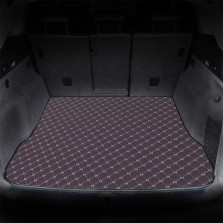 御马(yuma)车佰仕皮革后备箱垫专车定制 深紫色