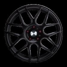 【新品 买3送1 四只套装】丰途/华固HR370 18寸 旋压铸造轮毂 孔距5X112 ET42亚黑涂装