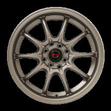 【套装立减750 四只套装】丰途/华固HG2161 16寸 低压铸造轮毂 孔距4X100/4X114.3 ET40消光古铜