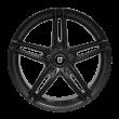 【买3送1 套装】丰途/FT513 18寸 低压铸造轮毂 孔距5X105 ET35亚黑涂装