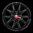 【套装特价】丰途/FR553 18寸 旋压铸造轮毂 孔距5X112 ET35黑色涂装