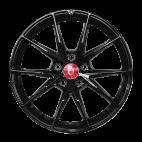 丰途/FR553 18寸 旋压铸造轮毂 孔距5X112 ET42黑色涂装