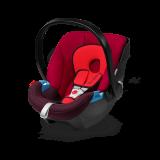 德国 cybex/赛百适 Aton提篮 0-15个月婴儿安全座椅 欧洲ADAC认证 伦巴红