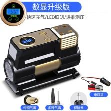 尤利特 车载充气泵 高压直驱快速充气泵数显预设自动充停款 YD-380S
