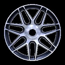 【四只套装】丰途/CF177 20寸 锻造轮毂 定制 亚黑车亮面