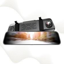 途虎王牌 12寸全面屏2K超清流媒体后视镜行车记录仪 单镜头