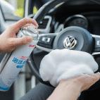 途虎/tuhu 多功能泡沫清洁洗车液皮革顶棚汽车用品内饰清洗剂强力去污(刷盖)550ml