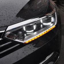 【免费安装】龙鼎适用于新迈腾大灯总成 17-19款B8改装流光LED日行灯氙气大灯