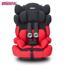 路途乐 路路熊A  9个月-12岁汽车儿童安全座椅 【魔力红】