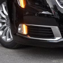 【免费安装】龙鼎凯迪拉克XTS前雾灯18-19款日行灯改装LED雾灯框加装总成转向