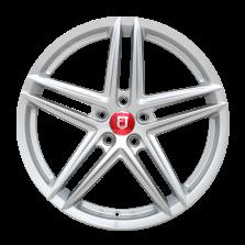 【买3送1 四只套装】丰途/FR552 19寸 旋压铸造轮毂 孔距5X112 ET37银色涂装