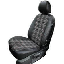 旷虎 专车专用条纹款全包皮织混搭汽车座套坐垫