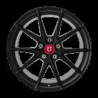 【前轮+后轮 4只套装】丰途/FR553 19寸 旋压铸造轮毂 孔距5X120 亚黑涂装 宝马3系/老款5系/7系/X1/X3/凯迪拉克CTS