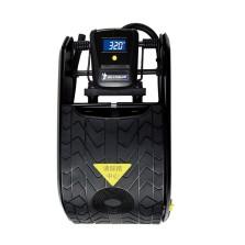 米其林/Michelin 脚踩式双缸充气泵 多用途车载数显迷你打气泵 4746ML