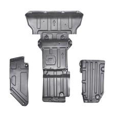 Jeep自由光 钜甲 发动机下护板 车底防护板 锰钢专用发动机护板【3D锰钢下护板3.0mm】 (5件套 发动机+主驾驶侧护板2片+副驾驶侧护板2片)