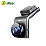 360行车记录仪 G300高清夜视隐藏式无线测速电子狗 标配+64G高速卡+降压线