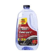 Black Magic水润轮胎镀膜蜡  汽车轮胎蜡 汽车镀膜蜡 液体 轮胎光亮剂 (补充装)1.89L(120011)