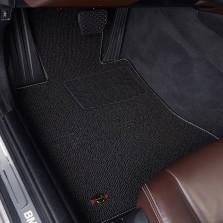 洛奇 专车专用地毯式汽车脚垫【黑色五座】