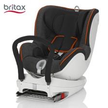 宝得适/Britax 双面骑士Dualfix 儿童安全座椅 isofix  0-4周岁(曜石黑)