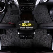 乔氏 思哥达系列 耐磨耐脏地毯式丝圈专车专用五座汽车脚垫 14mm厚度【黑灰色】【多色可选】