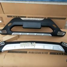 【免费安装】车猪猪12-14款汉兰达丰田改装配件前后防撞保险杠护板 前+后一套装 原厂款