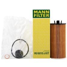 曼牌/MANNFILTER 机油滤清器 HU6015zKIT