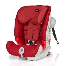宝得适/Britax 百变骑士 II SICT 二代汽车儿童安全座椅 isofix 9月-12岁【热情红】